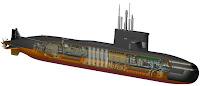 Amur Class Submarine