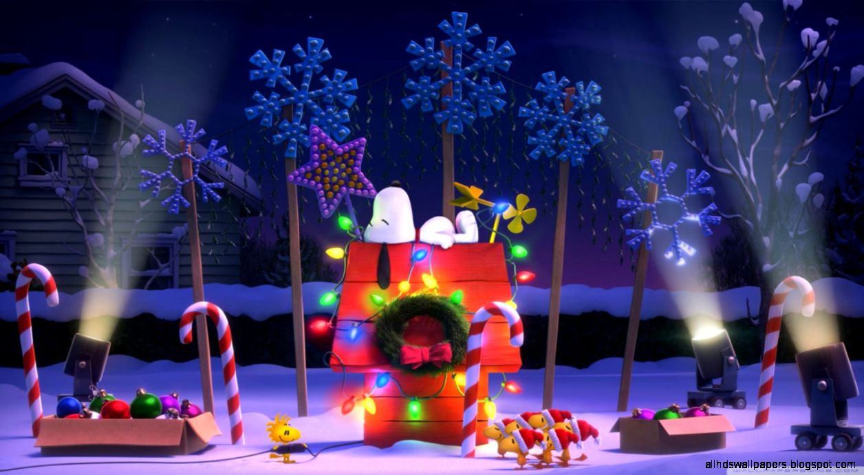 The Peanuts Christmas HD desktop wallpaper  Widescreen  High