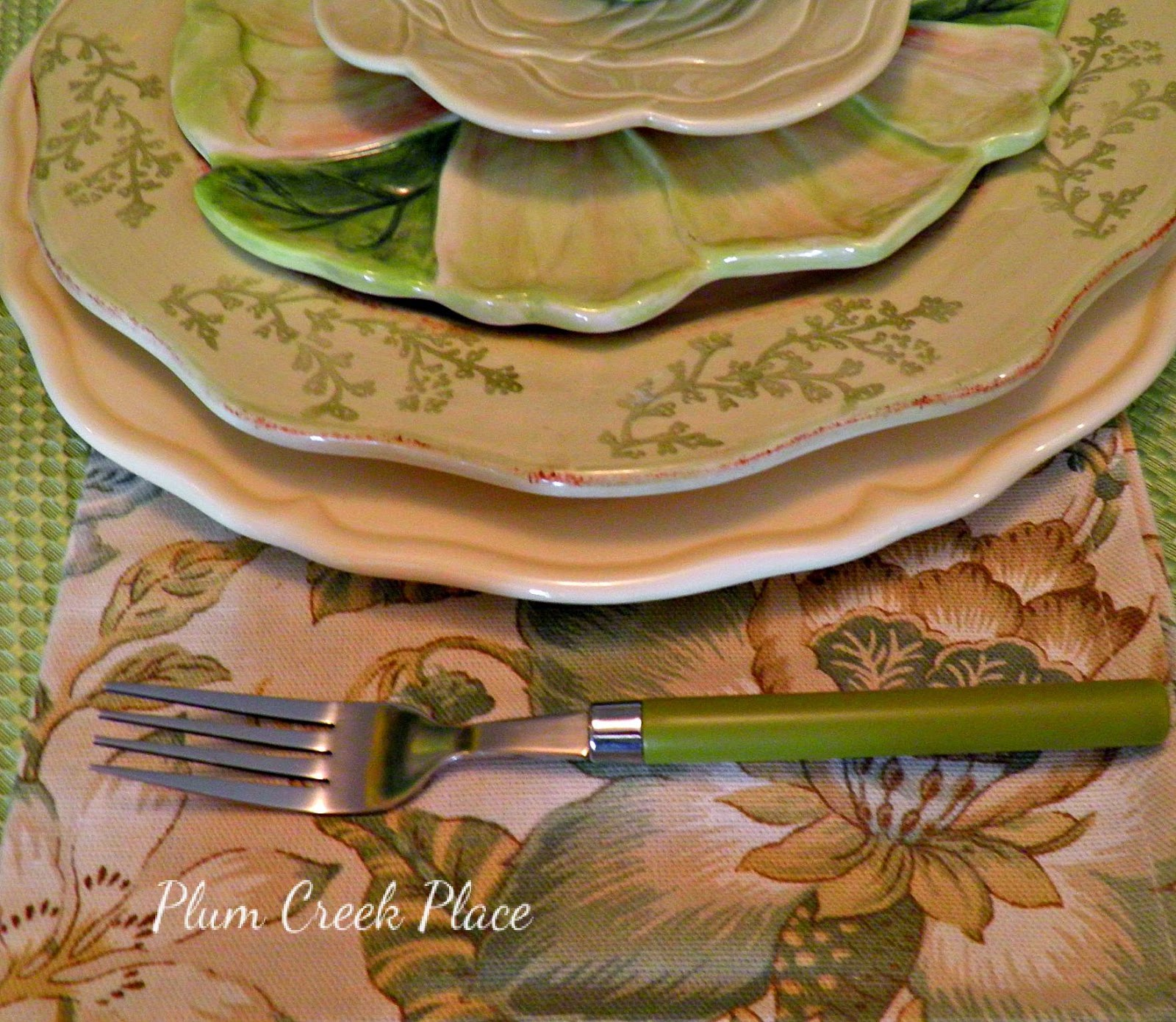 Easter Tablescape, Bunny tablescape, flop eared bunnies