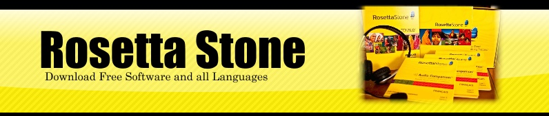 Rosetta Stone with all Languages FREE Download