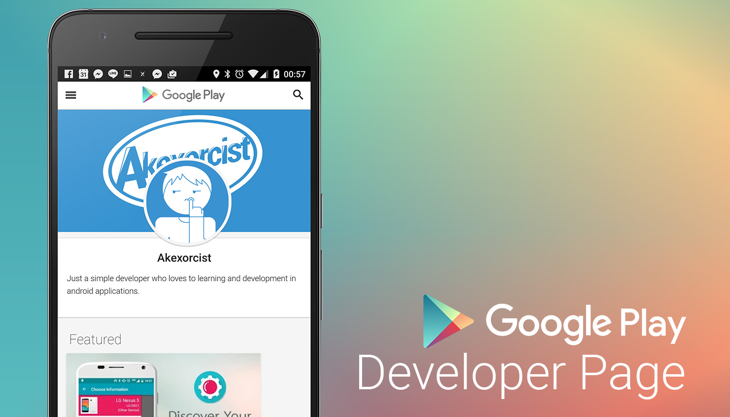 [Android Dev Tips] มาเพิ่ม Developer Page ใน Google Play ...