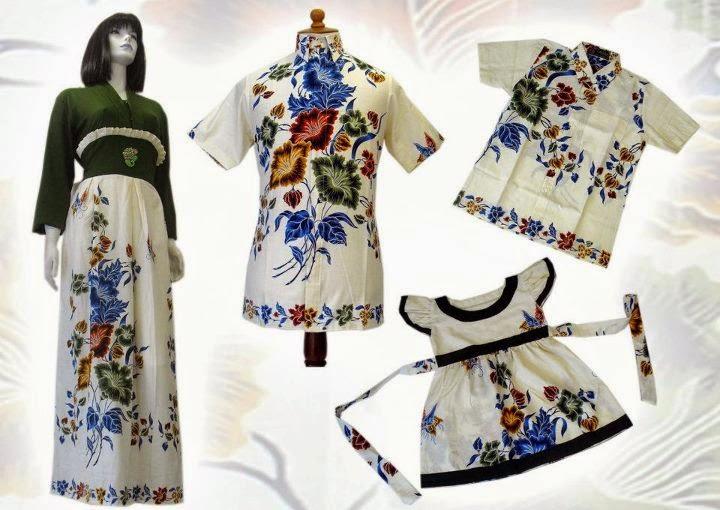 Model baju batik untuk orang gemuk kerja kantor muslim kombinasi gamis atasan terbaru