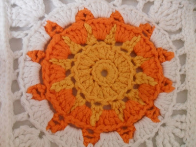 Haakpatroon Granny Square Zon