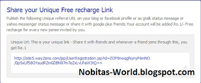 Free Mobile Recharge with Referral Link