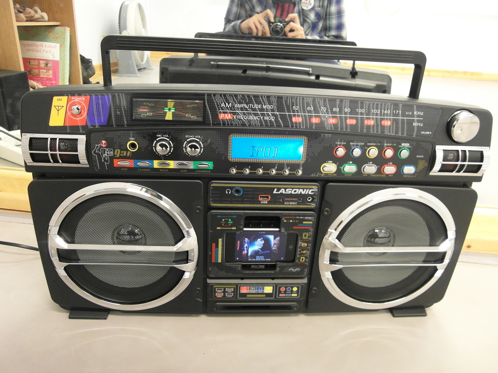 Bradly johnson brads1star ipod boombox - Lasonic ghetto blaster i931x ...