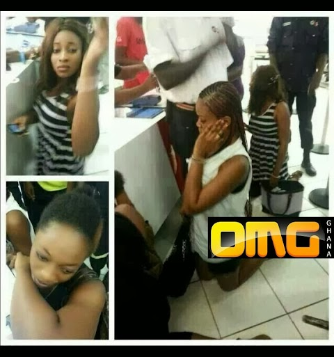 Video! Mr. Price Clothing Store Staff Humiliates  3 Girls Caught Shoplifting