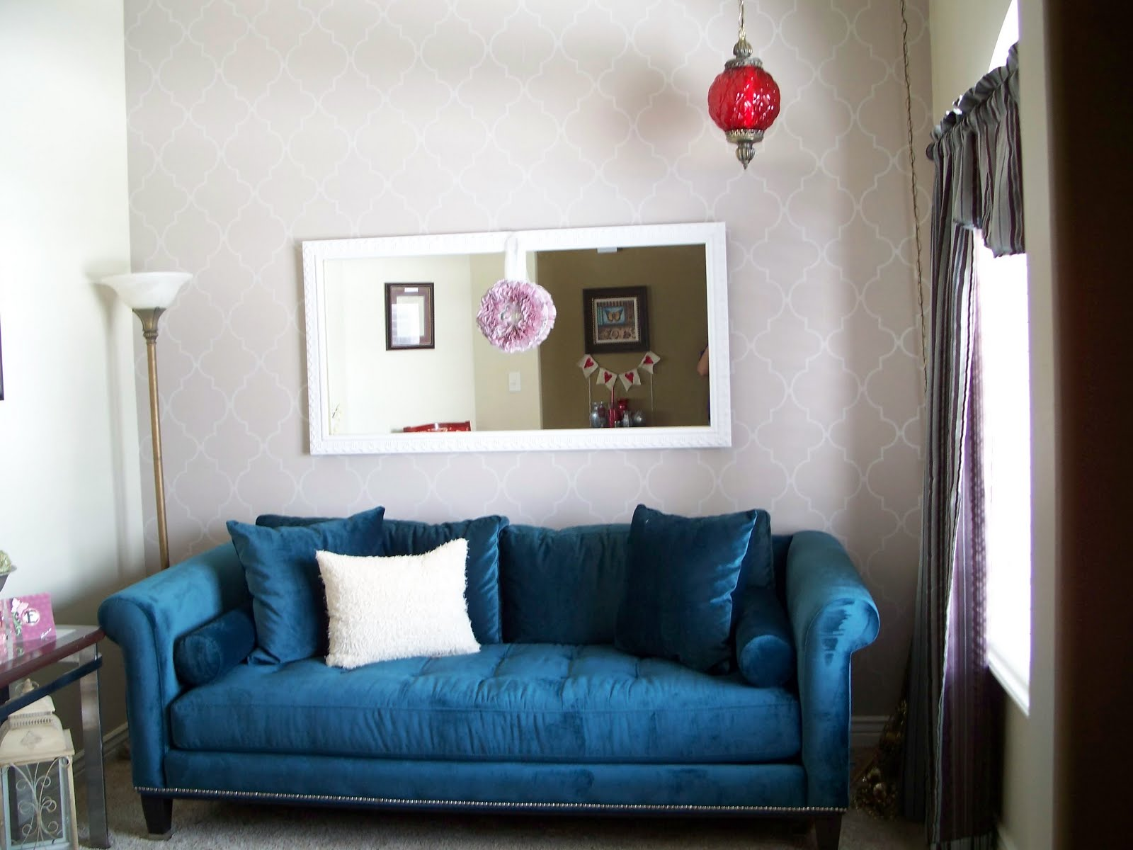 Funky Craft Mama Living Room Redo