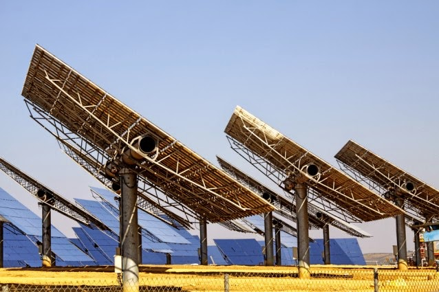 Solar panels in solar plant (Credit: Shutterstock) Click to enlarge.