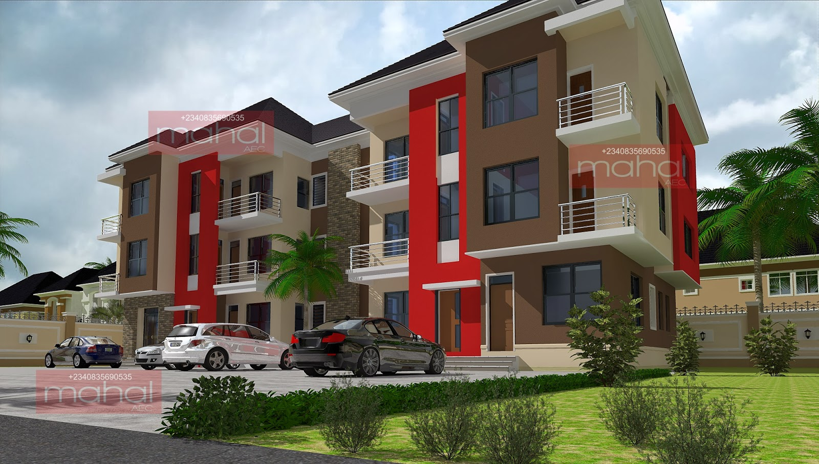Contemporary nigerian residential architecture azubie for Nigerian architectural designs