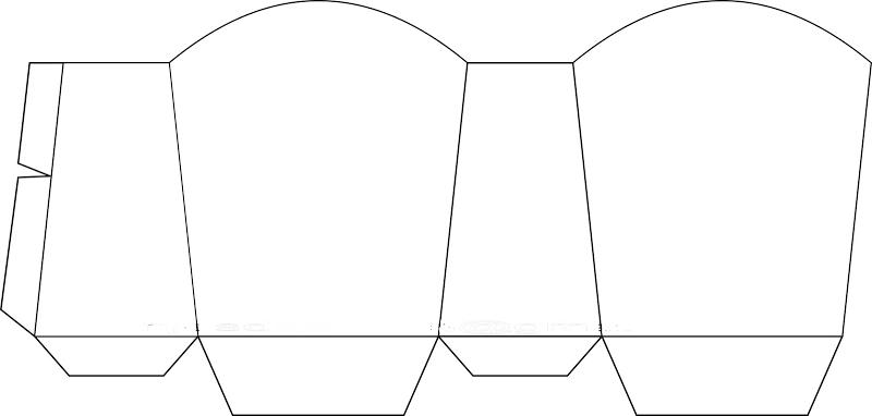 Caja abierta para golosinas