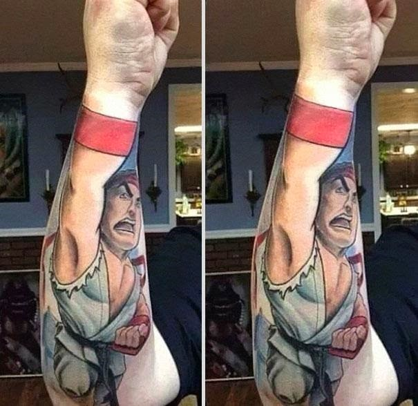 Creative Tattoos Of History.