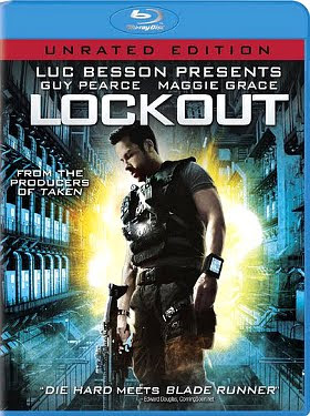 Filme Poster Lockout UNRATED BDRip XviD & RMVB Legendado