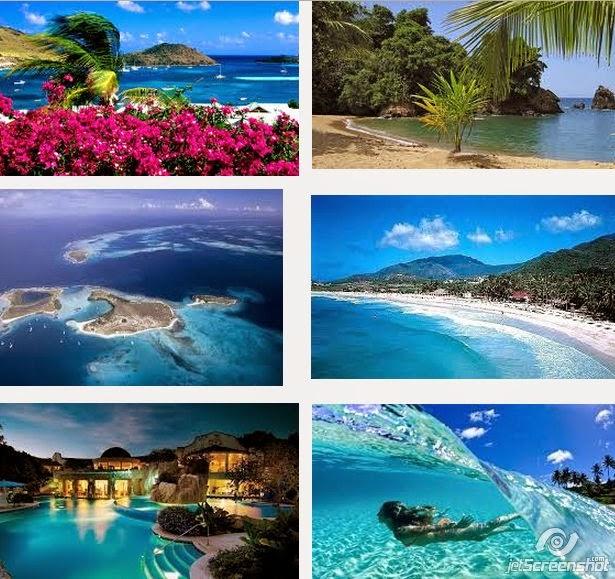 paraísos del caribe