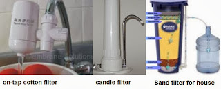 candle filters vs sand filters