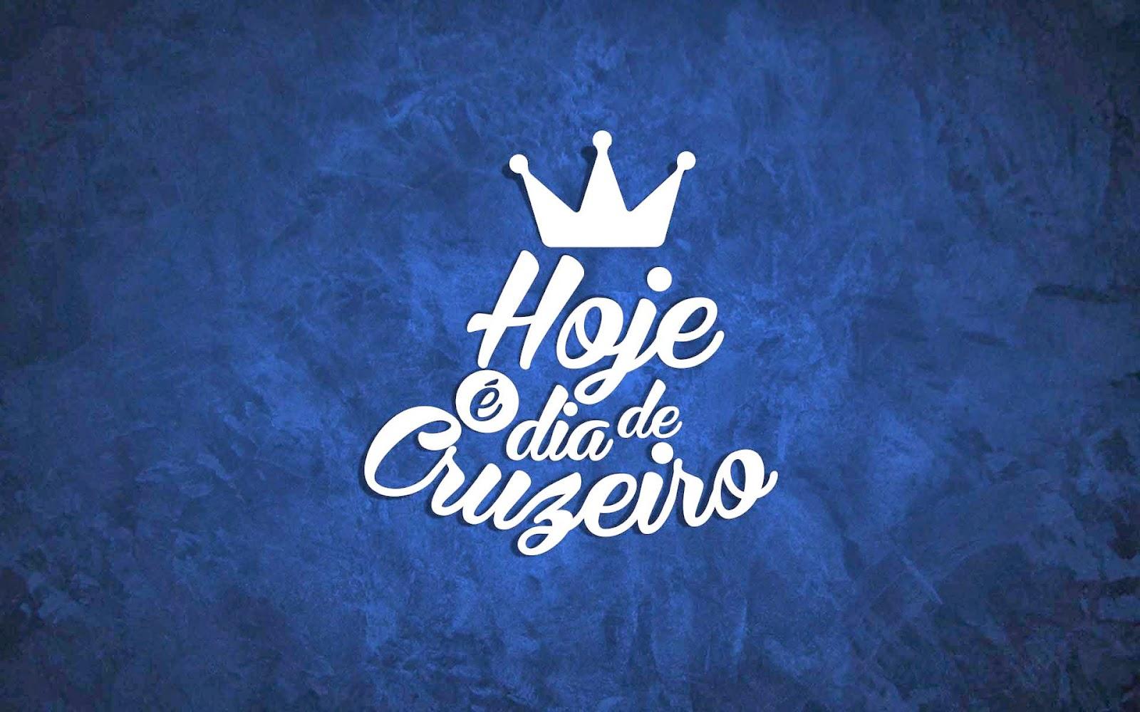 Papel de parede 'hoje e dia de Cruzeiro'