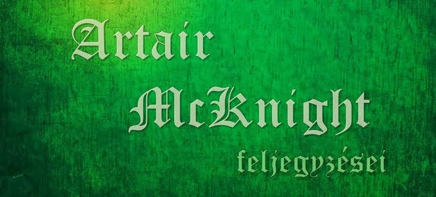 Artair McKnight feljegyzései