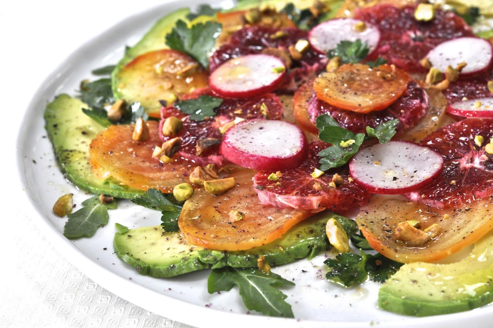Ciao Chow Linda: Avocado-Beet-Blood Orange Salad