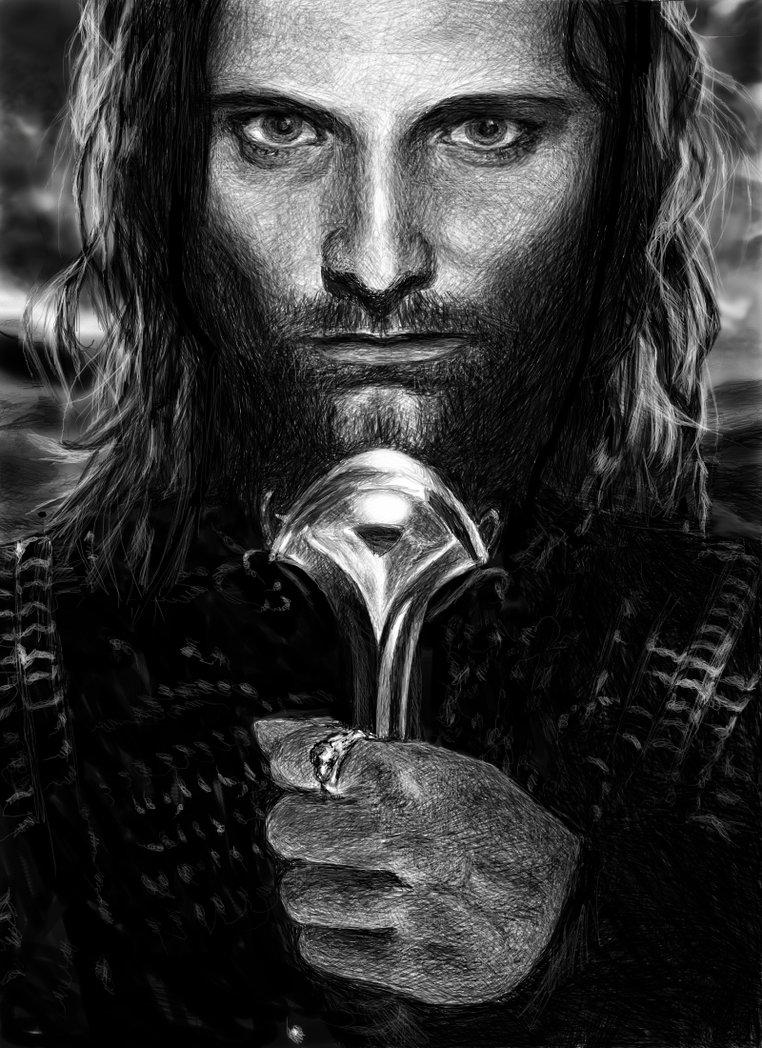 Viggo Mortensen Lord Of The Rings Tattoo Viggo Mortensen Young ...