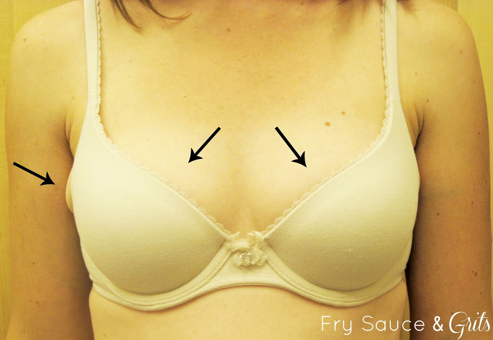 Incorrect Fitting Bra from FrySauceandGrits.com