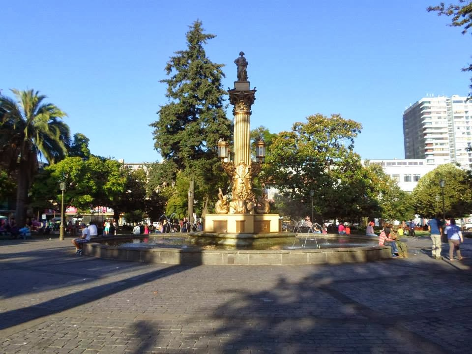 Fotos de la Plaza Independencia de Concepción (Del año 2014)