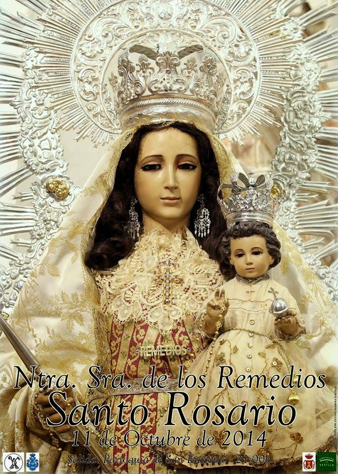 Salida en Santo Rosario de Ntra. Sra. de los Remedios 2014