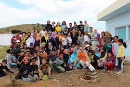 Participation au projet « Ecole pour tous » à Had Kourt