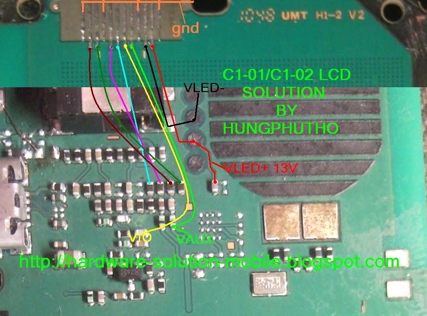 c1 Nokia Lcd Light Solution Nokia C1-01 Lcd Light Jumper