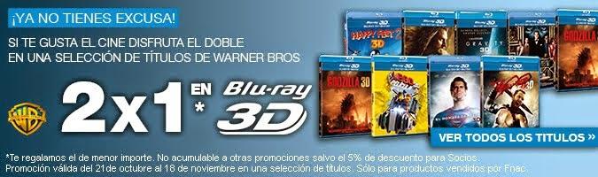 2X1 EN BLU-RAY 3D!