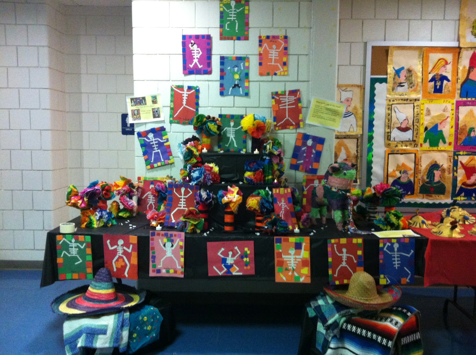 Commy Kids Room : Commy Kids Room : Egyptian 6th Grade Art Project
