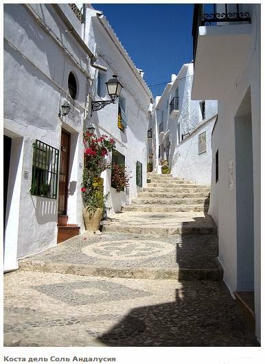 Arquitectura de casas casas en la costa del sol de espa a - Casas en la costa del sol ...