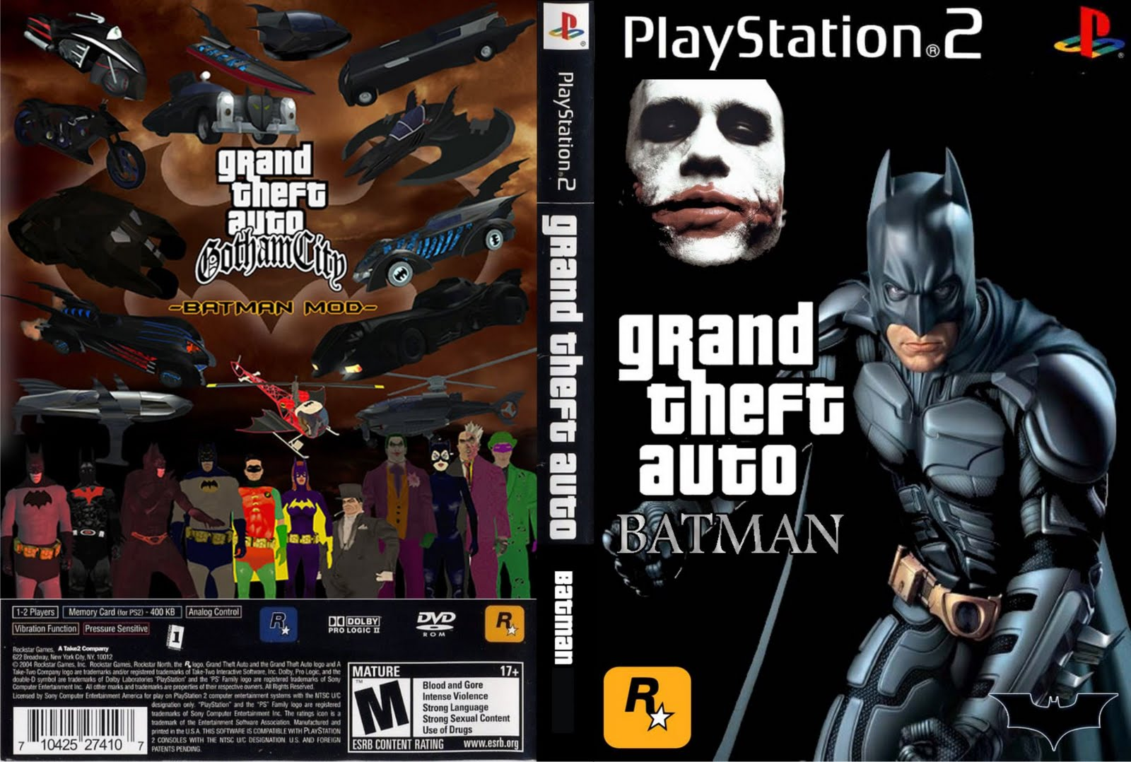 Gta san andreas batman ps2