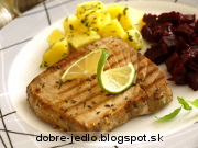 Grilovaný steak z tuniaka - recept