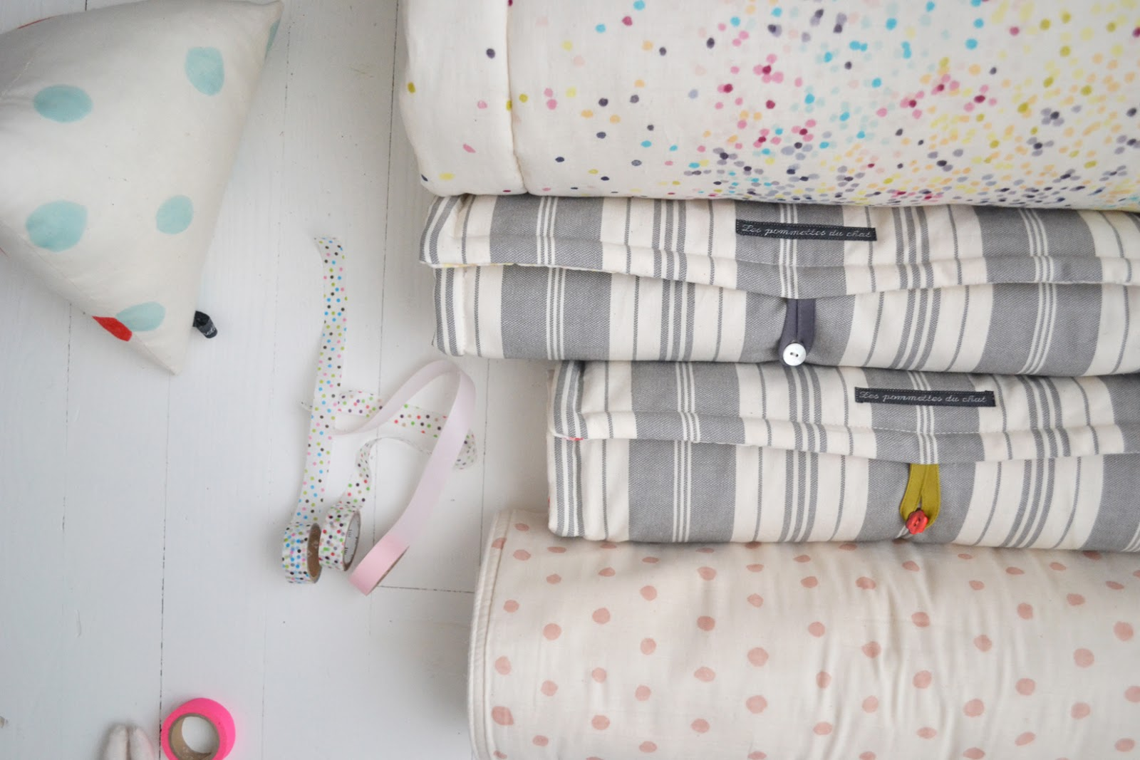 textiles b b les pommettes du chat matelas langer nomade. Black Bedroom Furniture Sets. Home Design Ideas