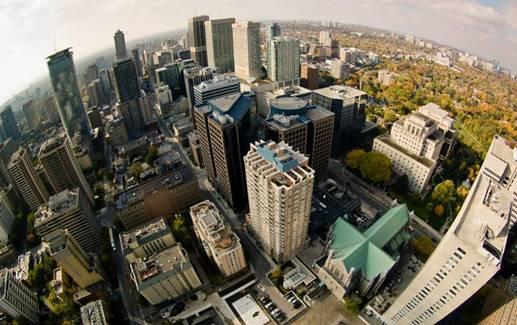 Tren Baru Fotorgrafer Berburu Gambar Menakjubkan dari Puncak Gedung-Gedung Pencakar Langit - FaceLeakz