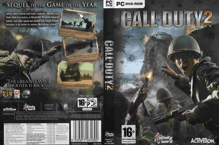 call of duty 2 pc portada