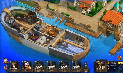 Pockie Pirates Fishing system