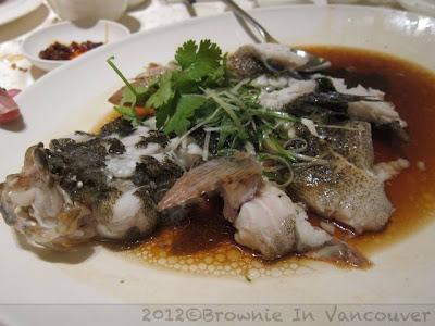 Imperial Treasure Steamed Sun Hock Fish