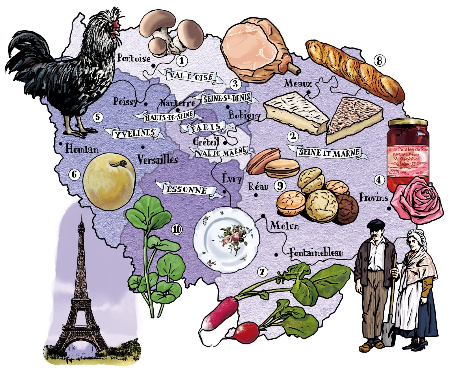 Le blog d 39 albin michel jeunesse atlas de la france gourmande - France 3 cuisine gourmande ...