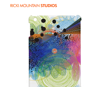 I pad mini case art-Ricki Mountain