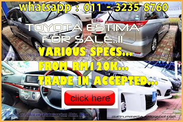 Various Specs TOYOTA ESTIMA FOR SALE..!!