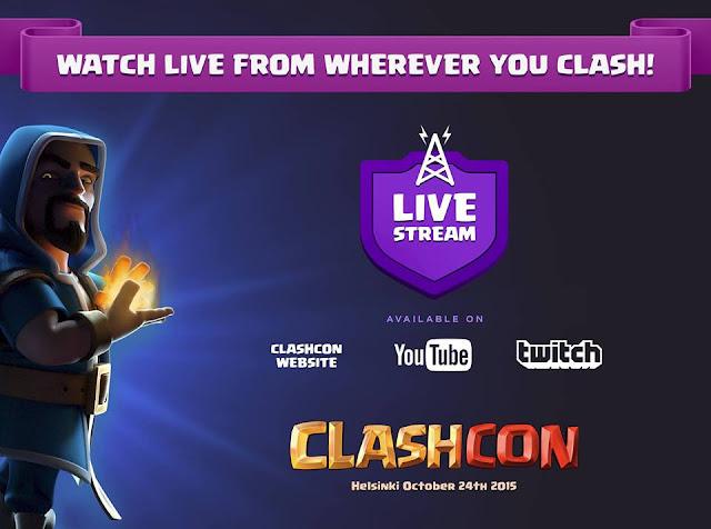 Clashcon live
