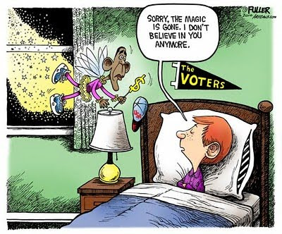 obama looses election cartoons