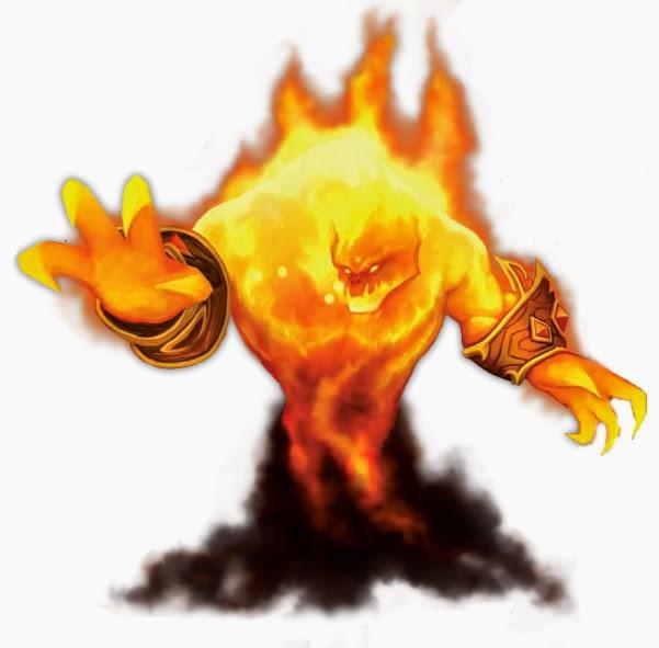 5 aventuras para personajes de nivel 1 Elemental de Fuego