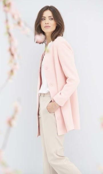 Damart Collarless coat