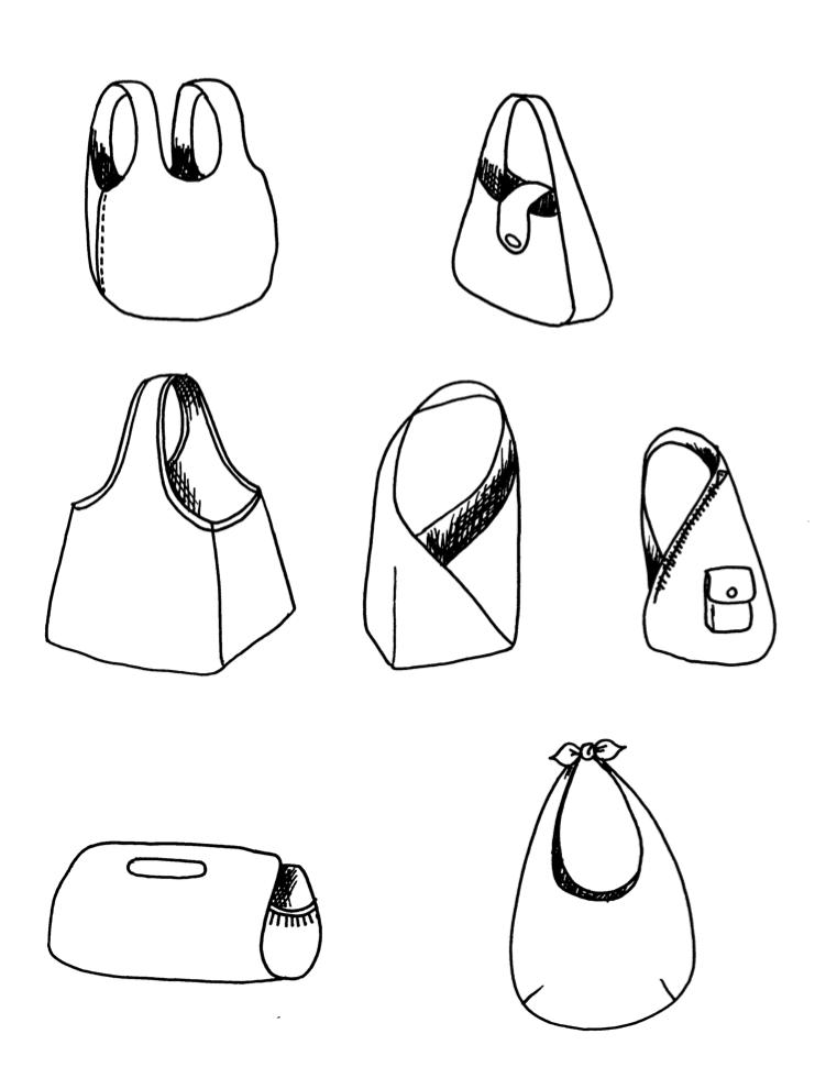 Tote Bag Shapes Change The Shape of a Bag