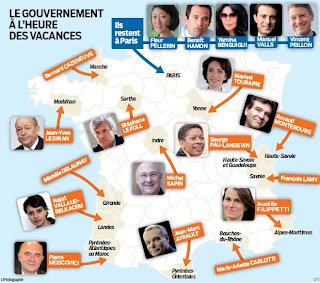 Vacances studieuses pour le gouvernement