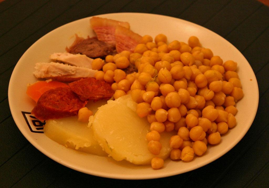 Cocina en olla rapida cocido madrile o en olla r pida - Cocido de garbanzos en olla express ...