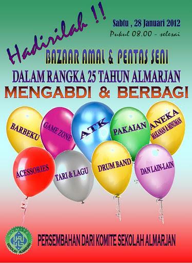 Bazar Amal & Pentas Seni AlMarjan 2012 !!!