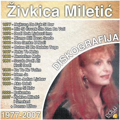 Zivkica Miletic-Diskografija Zivkica+Miletic+1-1