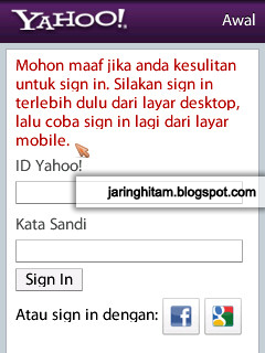 how to create yahoo email with mobile phone